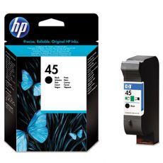 51645GE (No.45) / HP original ink čierny (black)