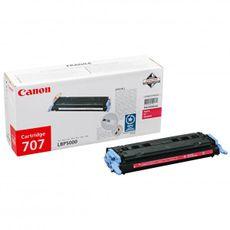 CRG-707M / Canon LBP 5000 červený (magenta) originálny toner