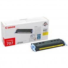 CRG-707Y / Canon LBP 5000 žltý (yellow) originálny toner